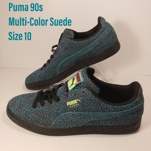 New Puma suede 90s Inspired Pattern